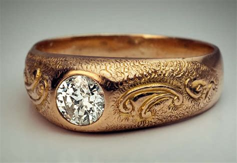 Earth Home Decor men s diamond ring 1920s at 1stdibs