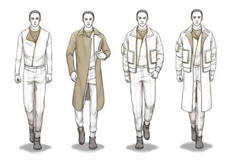 design clothes male pinterest costume sketches fashion body outline man