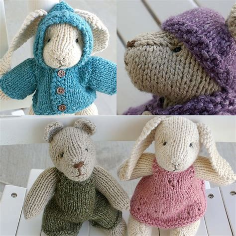 free patterns at ravelry free pattern on ravelry bunny bear and clothes too