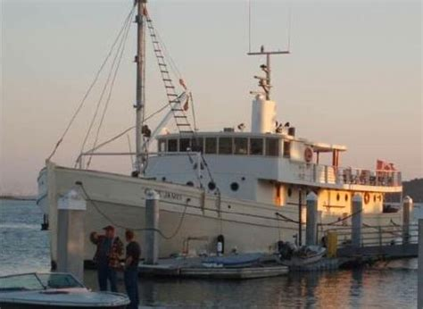 liveaboard boats for sale san francisco cape james known as fp 47 in wwii available as