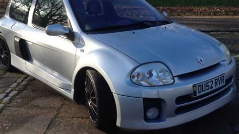 2002 renault clio 3 0 v6 230 for sale rhd