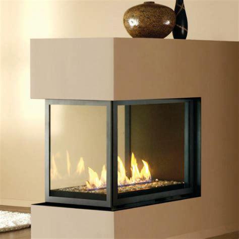 Peninsula Fireplaces by Montigo H Series Peninsula Multi Sided
