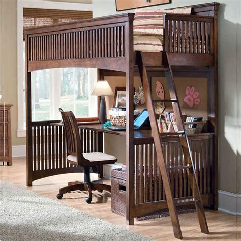 tempat tidur anak minimalis  meja belajar