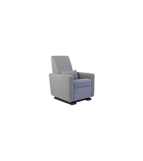 monte grano glider recliner monte design grano glider recliner in heather grey
