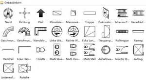 bauplan zeichnen grundriss symbole grundriss zeichnen verwendung der