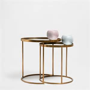 Zara Side Table 15 Statement Gold Side Tables Available Now