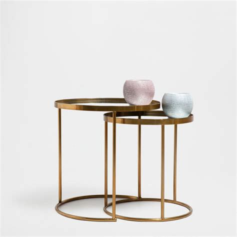 Zara Side Table 15 Statement Gold Side Tables Available Now Akwisombe
