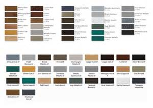powder coating colors martin garage doors color options
