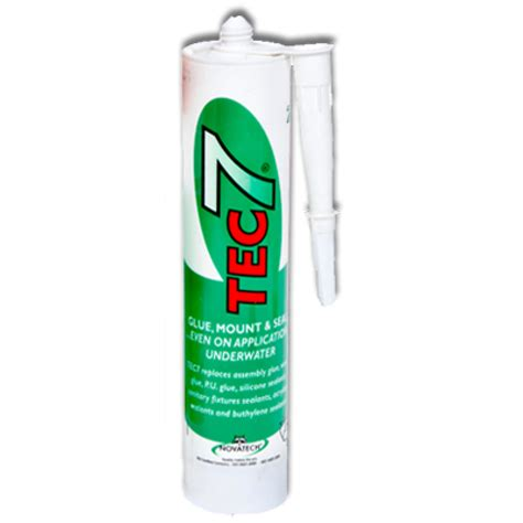 Plumbing Adhesives And Sealants by Tec 7 Clear Sealant 310ml Davies
