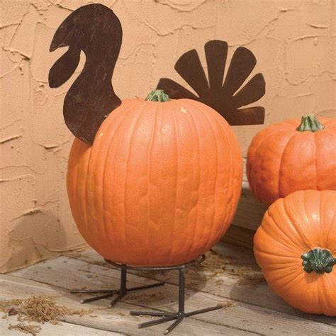 Thanksgiving Pumpkin Decorations by 1000 Ideas About Turkey Decorations On