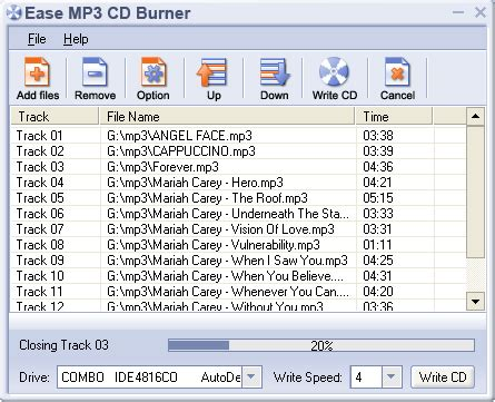 format cd to mp3 free download ease mp3 cd burner 1 60 burn wav mp3 ogg