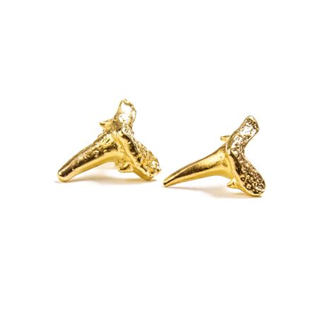 Handcrafted Gold Rings - gold shark teeth jervey jewelry handcrafted