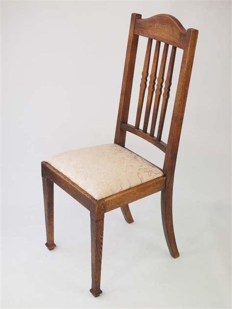 oak chairs uk harlequin set 6 vintage oak dining chairs