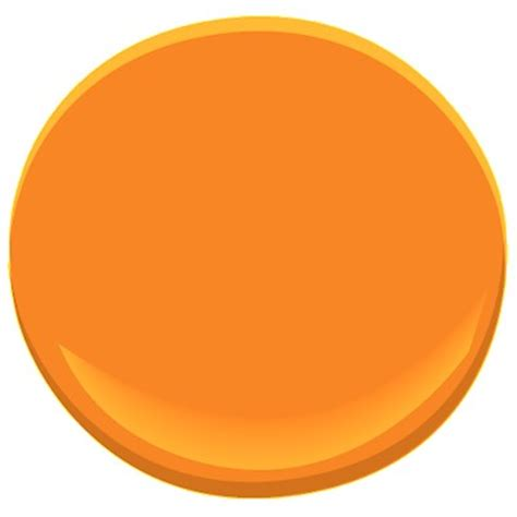 citrus orange 2016 20 paint benjamin citrus orange paint color details