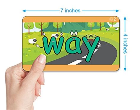 Baby Early Learning Card 1 Set alphabet vowel phonics 200 sight words 322 x large early learning flash cards baby