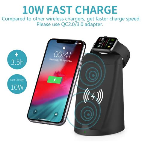 eliminate clutter   iphone  apple  wireless charger combo