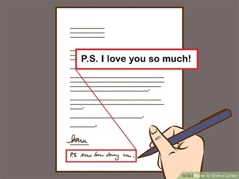 how to end a friendly letter how to end a letter with sle letter closings wikihow