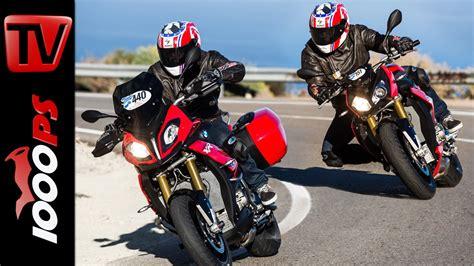 Bmw Motorrad 1000 Xr Zubehör by Bmw S 1000 Xr Vs S 1000 R Test Vergleich 2016 Bmw