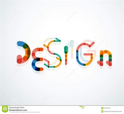 design font word design word font concept stock photo image 45547841