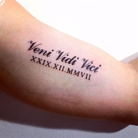 latin numbers tattoo designs 17 veni vidi vici ideas and designs with pictures