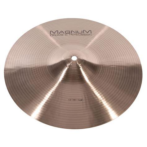 Handmade Cymbals - magnum handmade 13 quot 171 hi hat cymbal