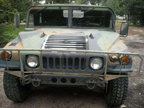 original hummer humvee m998 h1 all original 1993 hummer