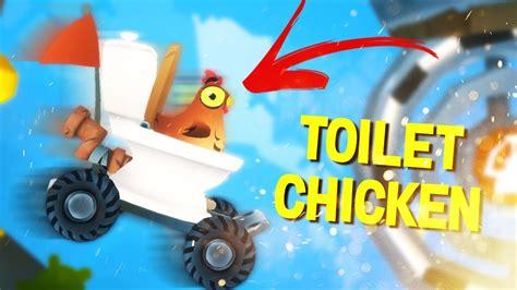 toilet chicken animal super squad  youtube