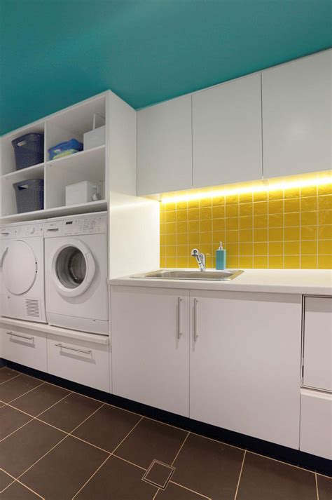 laundry design colours laundry room design idea raise your washer and dryer up