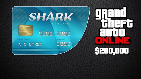 Cashcard Gift Card - buy grand theft auto online tiger shark cash card 200 00 and download