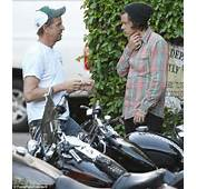 Harry Styles Stranded After Motorbike Breaks Down And Has To Be Given