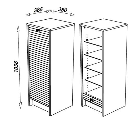 meuble pour classer les papiers classeur de rangement 224 rideau en bois 105 cm 3 coloris decome store