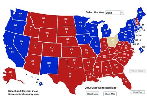 ohio swing state ohio va wis will decide 2012 election business insider