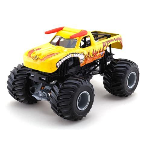 el toro loco truck 1 24 wheels el toro loco yellow truck