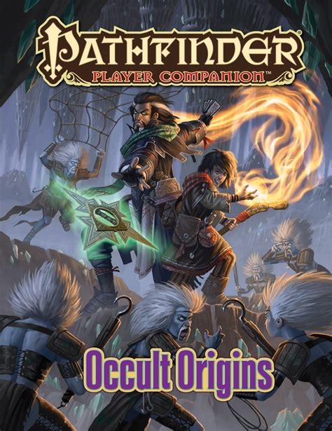 pathfinder player companion potions poisons books paizo pathfinder player companion occult origins