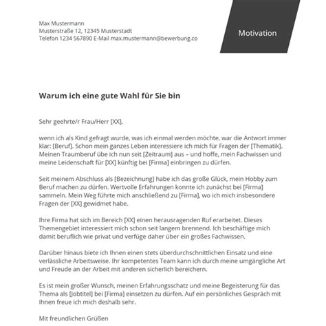 Motivationsbrief Bewerbung Beispiel Muster Motivationsschreiben Fr Ein Stipendium Zum Ceo Of The Future Essay
