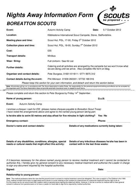 activity consent form template c permission slip template poesiafm tk