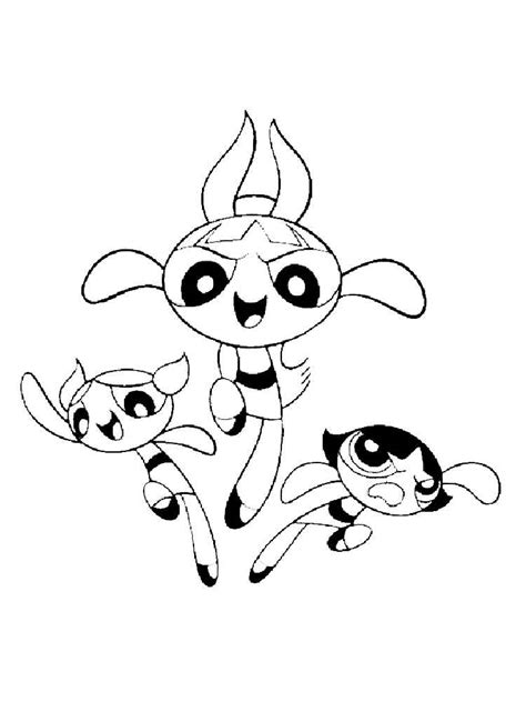 buttercup color powerpuff buttercup coloring pages free printable