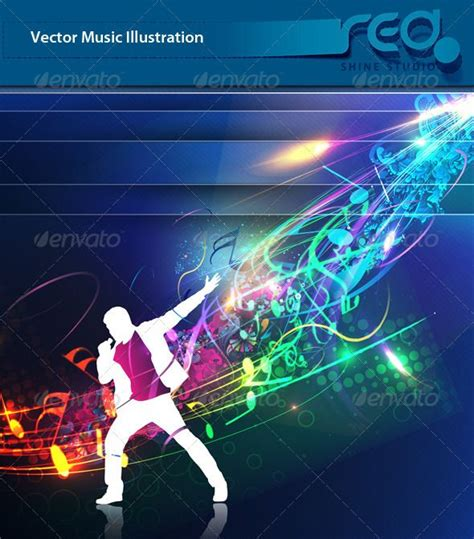 design background event dance party vector template design 5 abstract art