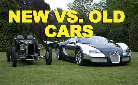 New vs Old Cars ETCG1 EricTheCarGuy Stay Dirty!
