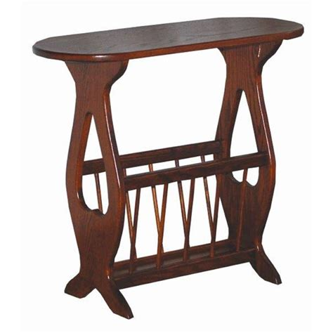 accent table with storage oval top oak accent table with storage rack