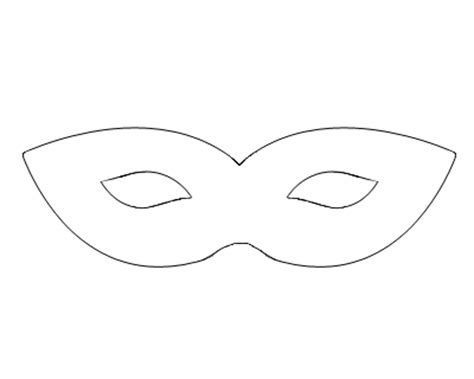 search results for blank masquerade mask templates