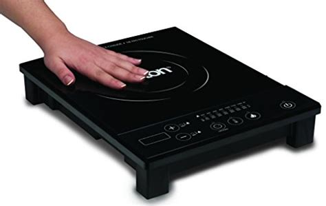 induction heater dubai salton id1293 portable induction cooker with pot black kitchen in the uae see prices