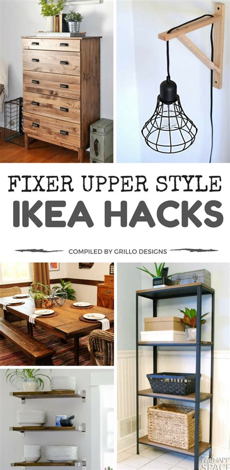 fixer upper designs 15 ikea hacks to add fixer upper style to your home