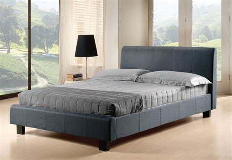 grey fabric bed nevada grey fabric bed frame