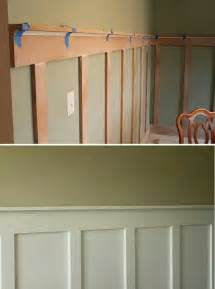 diy wainscoting home office