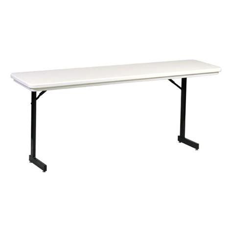Adjustable Height Folding Table Legs Correll Plastic T Leg Folding Table Adjustable Height 18 Quot W X 72 Quot L Ra1872tl