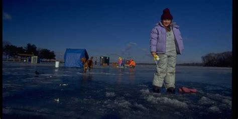 lake magnor ice fishing contest travel wisconsin