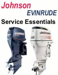 evinrude johnson repair manuals service manuals