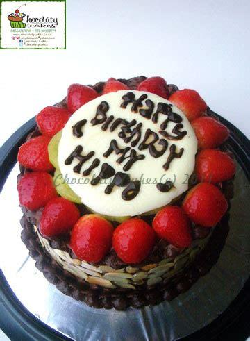 Coffee Toffee Pamulang fruity chocolate cake for maya s husband
