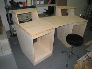building desk quot sound construction quot studio desk clone build page 2